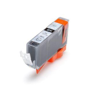 Inkoust CLI-521Bk kompatibilní černý pro Canon Pixma IP3600, IP 4600, MP 540 (11ml)