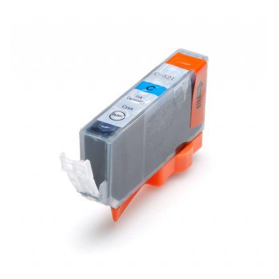 Inkoust CLI-521C kompatibilní azurový pro Canon Pixma IP3600, IP 4600, MP 540 (11ml)