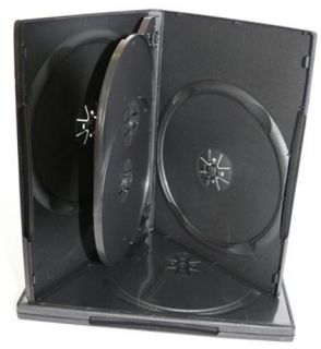 Obal box na dvd 4 DVD 18mm černý