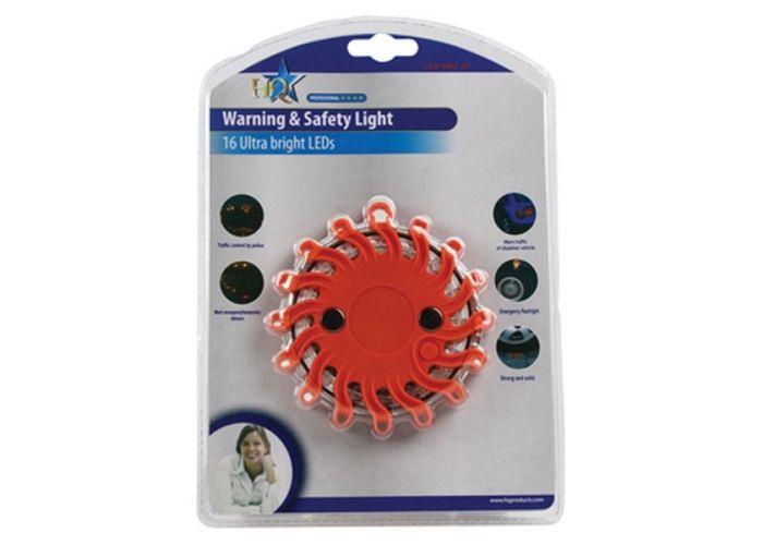 Svítidlo HQ nouzové výstražné světlo , vysocesvítivé LED, 9 funkcí, maják, odolné počasí