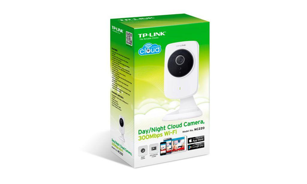 Kamera TP-Link NC220 IP, 640x480, WiFi b/g/n, přísvit