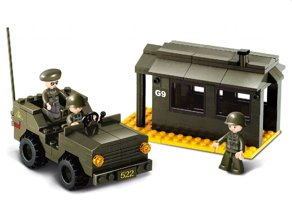 Stavebnice Sluban Vojenská stráž