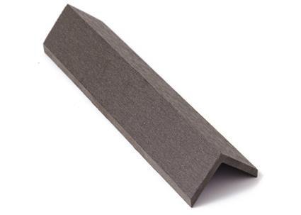 Zakončovácí lišta G21 4,5*4,5*300cm, Eben mat. WPC - 2. jakost