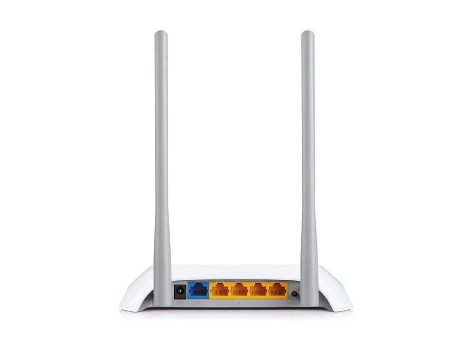 WiFi router TP-Link TL-WR840N AP/router, 4x LAN, 1x WAN (2,4GHz, 802.11n) 300Mbps