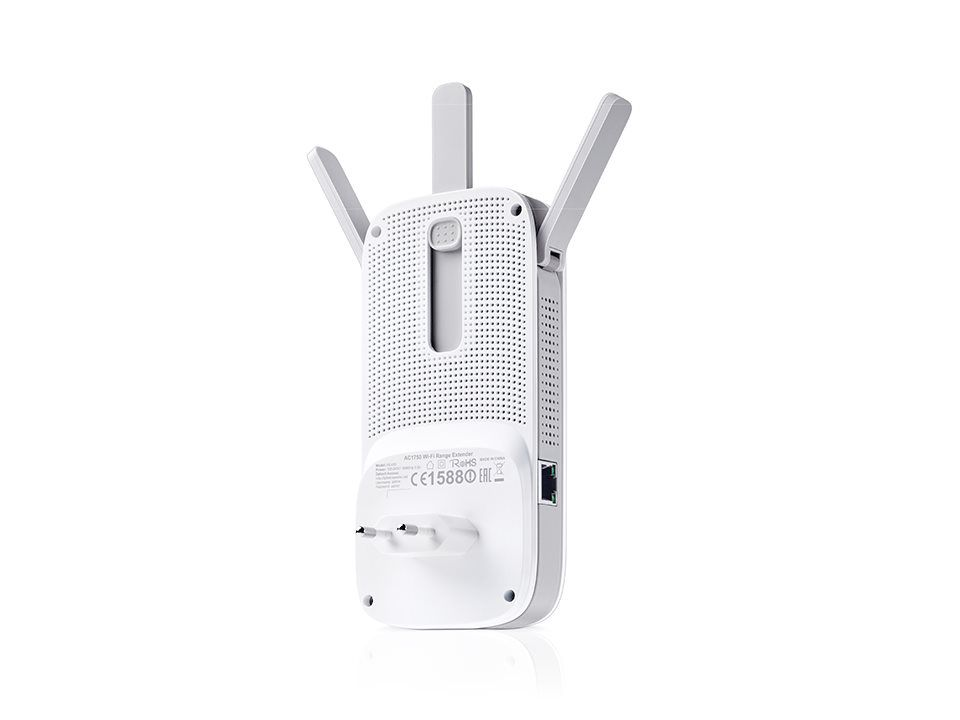 WiFi router TP-Link RE355 AP/Extender/Repeater - AC1200 300Mbps 2,4GHz a 867Mbps 5GHz , fixní anténa