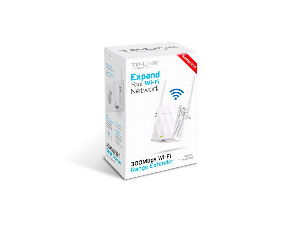 WiFi router TP-Link TL-WA855RE Extender/Repeater - 300 Mbps