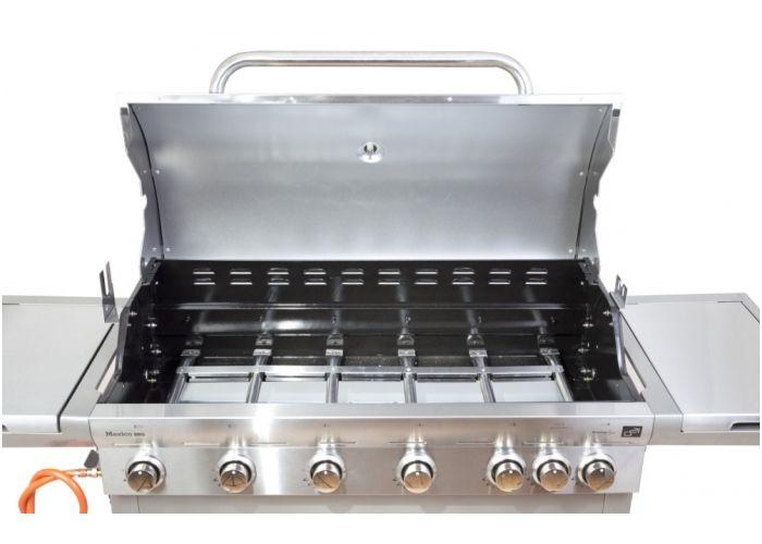 OEM 35975 Plynový gril G21 Mexico BBQ Premium line, 7 hořáků + zdarma redukční ventil