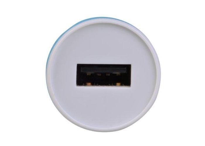 Nabíječka Avacom do auta s výstupem USB 5V/1A, barva bílo-modrá