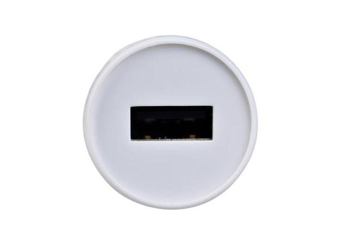 Nabíječka Avacom do auta s výstupem USB 5V/1A, barva bílá