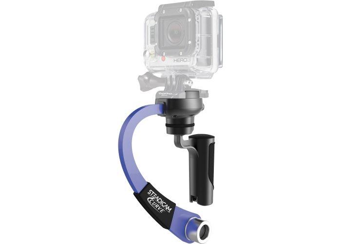 Stabilizační systém Tiffen CURVE pro GoPro HERO (modrý