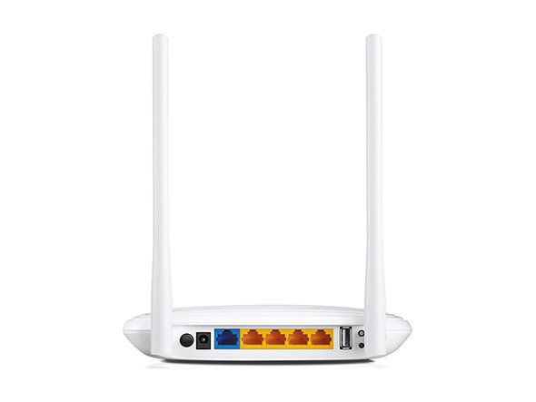 WiFi router TP-Link TL-WR842N AP/router, 4x LAN, 1x WAN, 1x USB (2,4GHz, 802.11n) 300Mbps