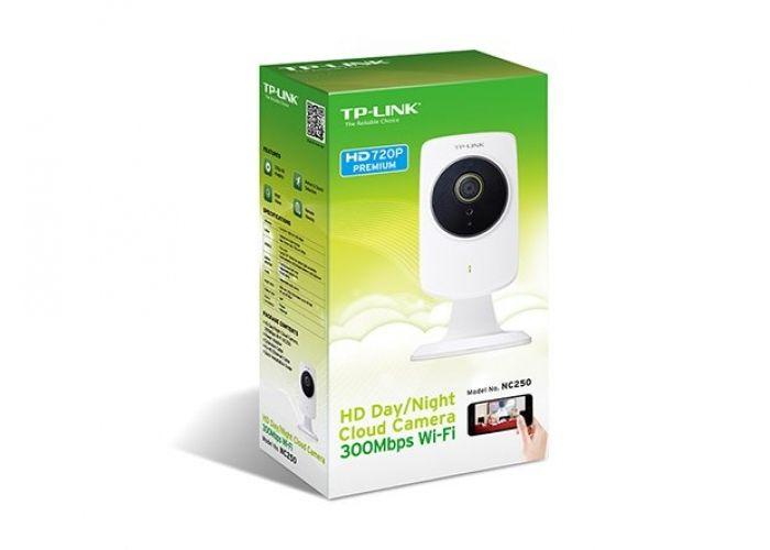 Kamera TP-Link NC250 IP, 1280x720, WiFi b/g/n, přísvit