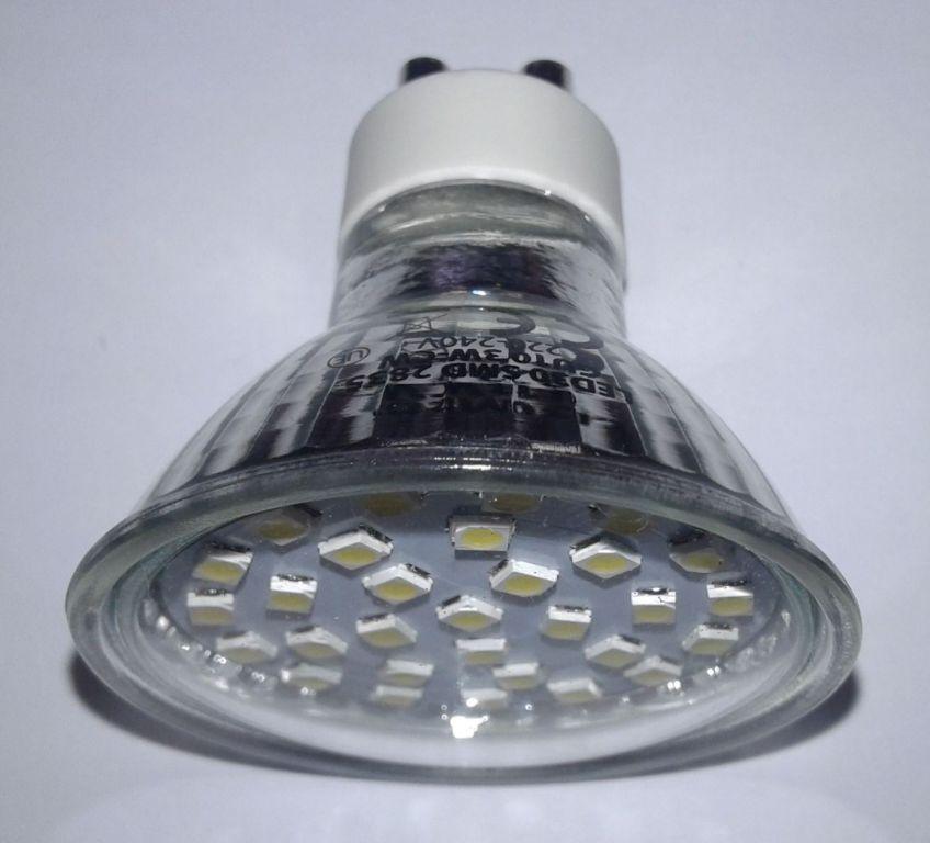 Žárovka Premium Line lighting LED GU10, 230V, 3W, 320lm, studená bílá