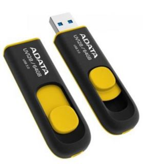 Flashdisk Adata USB UV128 64GB yellow (USB 3.0)