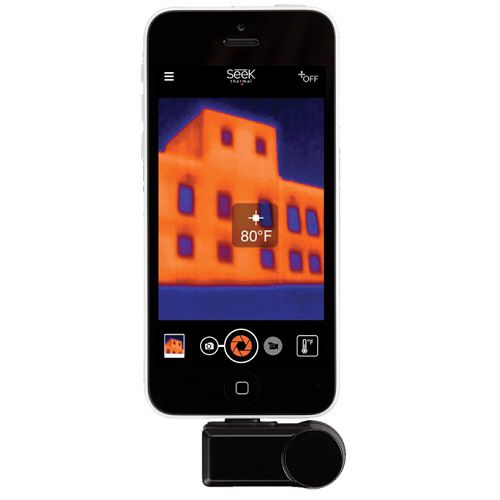 Termokamera Seek Thermal Compact pro iOS