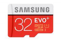 Paměťová karta Samsung micro SDHC Class 10 32GB EVO PLUS + adaptér