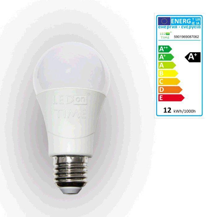 Žárovka LED E27, 230V, 12W, 1040lm, teplá bílá