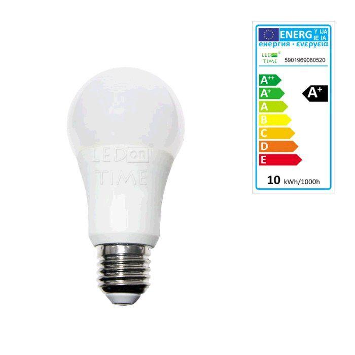 Žárovka LED E27, 230V, 10W, 804lm, teplá bílá