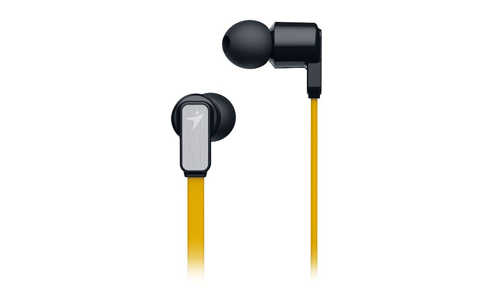 Sluchátka Genius HS-M260 mobile headset,yellow