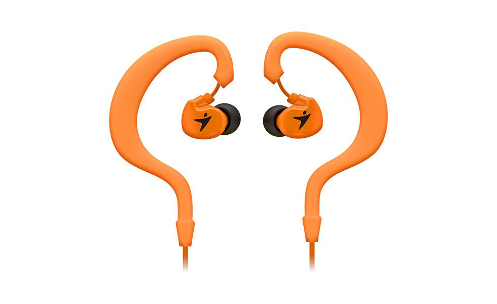 Sluchátka Genius HS-M270 sport headset, orange