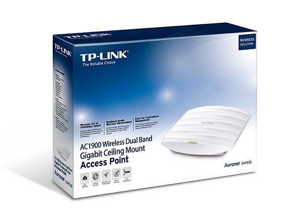 WiFi router TP-Link EAP330 stropní AP/client/bridge/repeater, 1x Gigabit WAN, 2,4 a 5 GHz, AC1900
