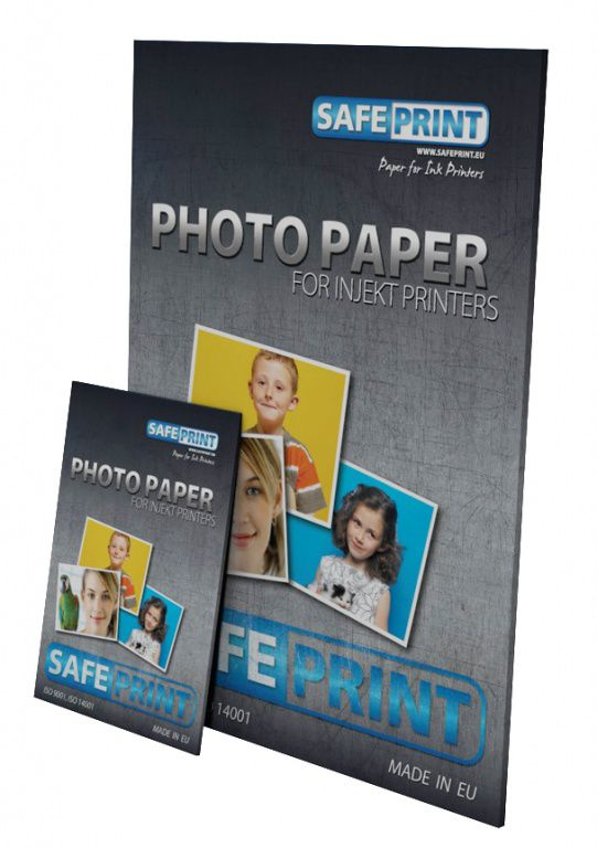 Papír Safeprint foto pro ink tiskárny MATNÝ, 190 g, A6, 20 sheets