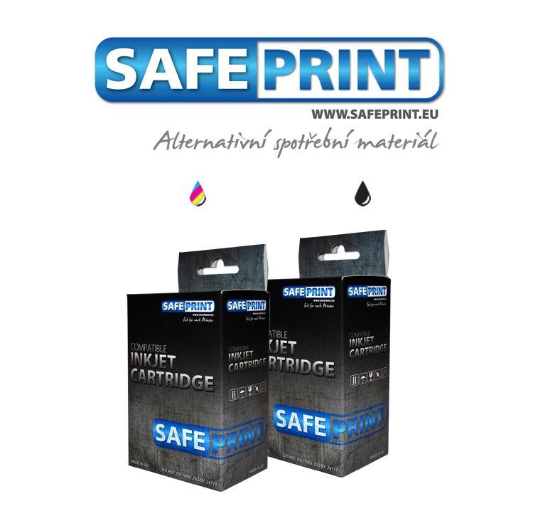 Safeprint PG-512 + CL-513 Inkoust MultiPack kompatibilní černý+barevný pro Canon (17ml+17ml)