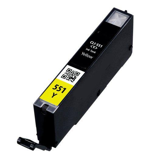 Inkoust CLI-551Y XL kompatibilní žlutý pro Canon (13ml)