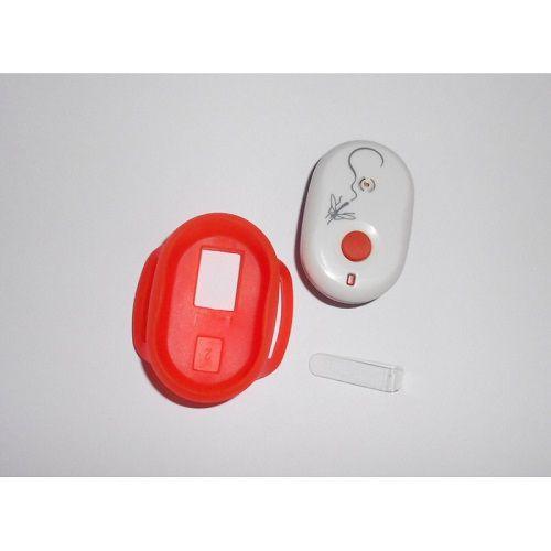 Ultrazvukový repelent Promo Green náramek Protektor Freetime proti komárům, oranžový