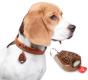 Ultrazvukový repelent TickLess Pet proti klíšťatům, hnědý