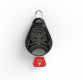Ultrazvukový repelent TickLess Pet proti klíšťatům, černý
