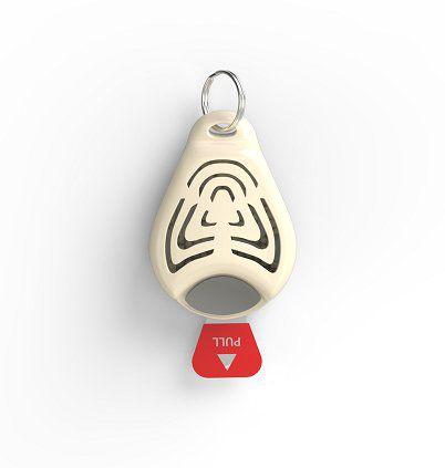 Ultrazvukový repelent TickLess Pet proti klíšťatům, béžový