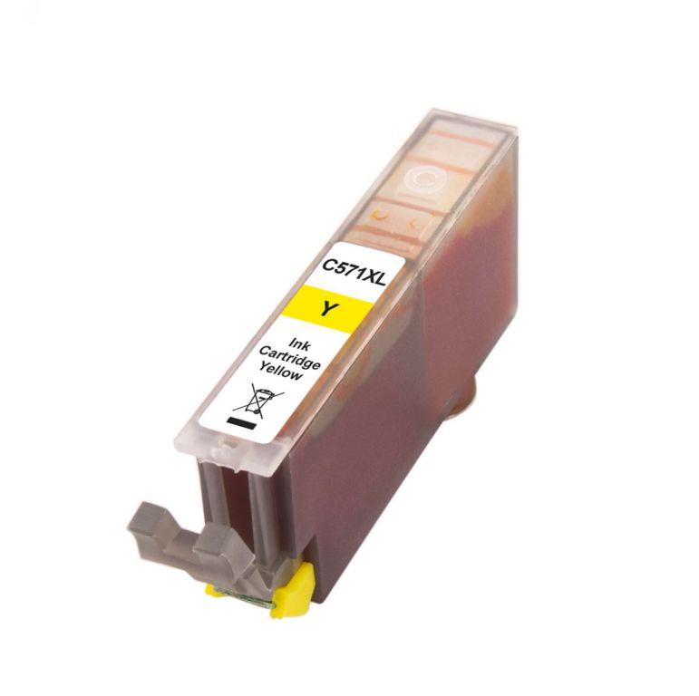 Inkoust CLI-571Y XL kompatibilní žlutý pro Canon (13ml)