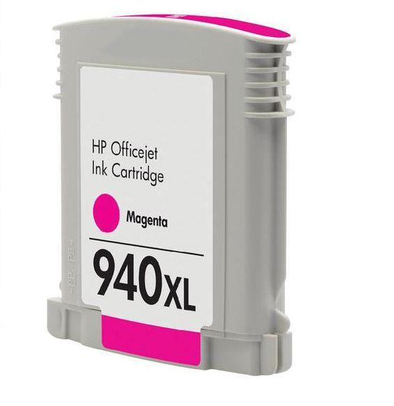 Inkoust C4908AE (No.940XL) kompatibilní purpurový pro HP (28ml)