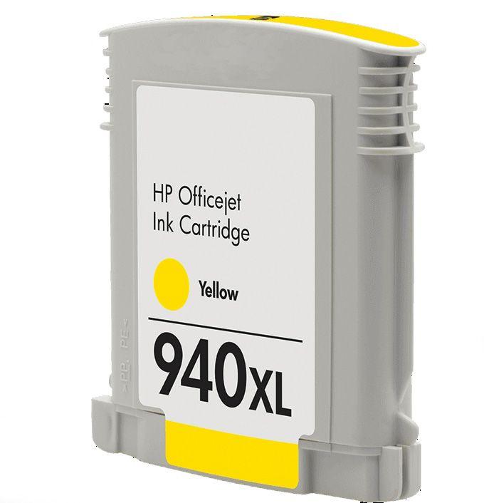 Inkoust C4909AE(No.940XL) kompatibilní žlutý pro HP (28ml)