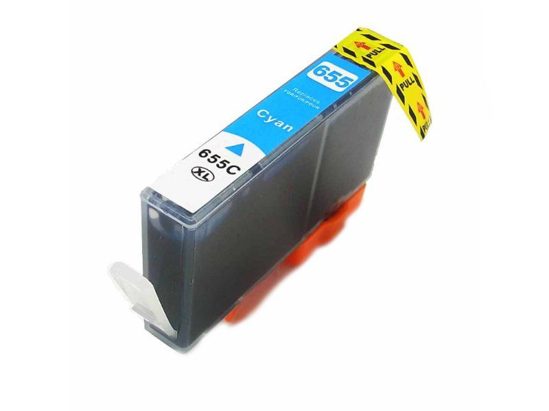 Inkoust CZ110AE (No.655) kompatibilní azurový pro HP (18ml)