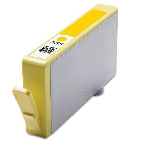 Inkoust CZ112AE (No.655) kompatibilní žlutý pro HP (18ml)