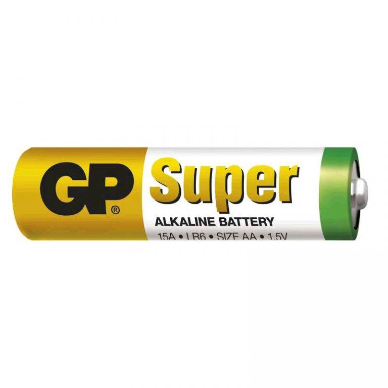 Baterie GP Super Alkaline tužková 1,5V, LR6 AA, 1 ks