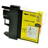 Inkoust LC980Y/1100Y kompatibilní pro Brother, yellow (12ml)