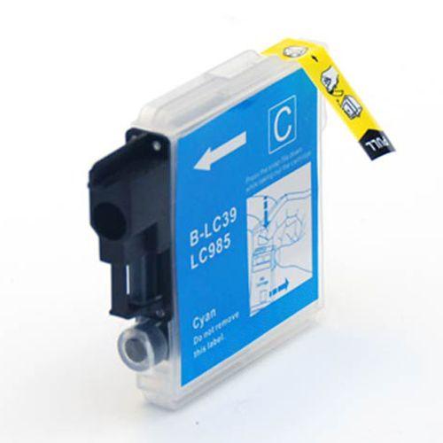 Inkoust LC985C kompatibilní azurový pro Brother (12ml)