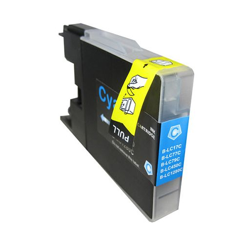 Inkoust LC1280C kompatibilní azurový pro Brother (20ml)