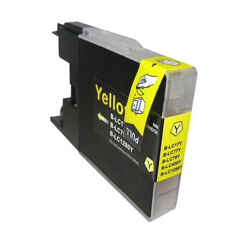 Inkoust LC1280Y kompatibilní žlutý pro Brother (20ml)