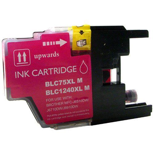 Inkoust LC1240M XL kompatibilní purpurový pro Brother (10ml)