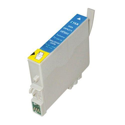 Inkoust T0612 kompatibilní azurový pro Epson (18ml)