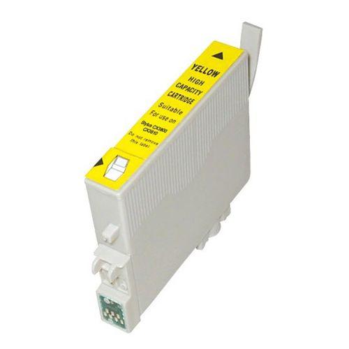 Inkoust T0614 kompatibilní žlutý pro Epson (18ml)