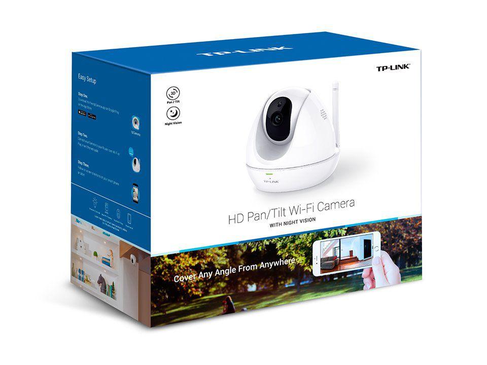 Kamera TP-Link NC450 IP, 1280x720, WiFi b/g/n, přísvit, otočná