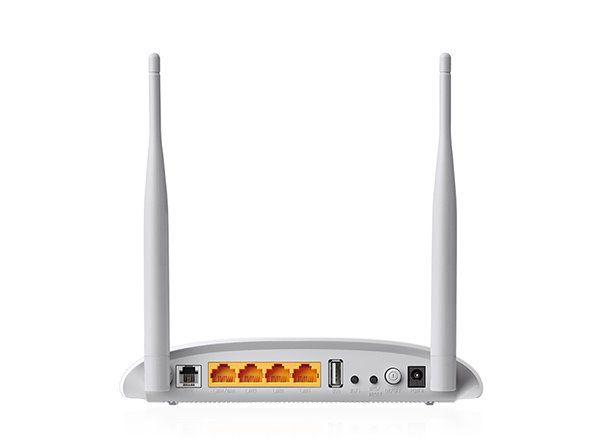 ADSL router TP-Link TD-W9970B VDSL/ADSL MODEM 4xLAN, 1x USB, WIFI 2,4GHz 300 Mbps