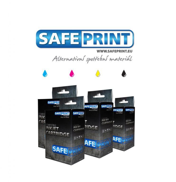 Inkoust Safeprint T1285 MultiPack kompatibilní pro Epson | BK+CMY | 1x12ml+3x10ml