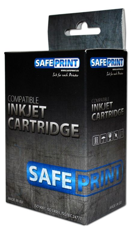 Inkoust Safeprint LC-125Y XL kompatibilní pro Brother | Yellow | 16ml