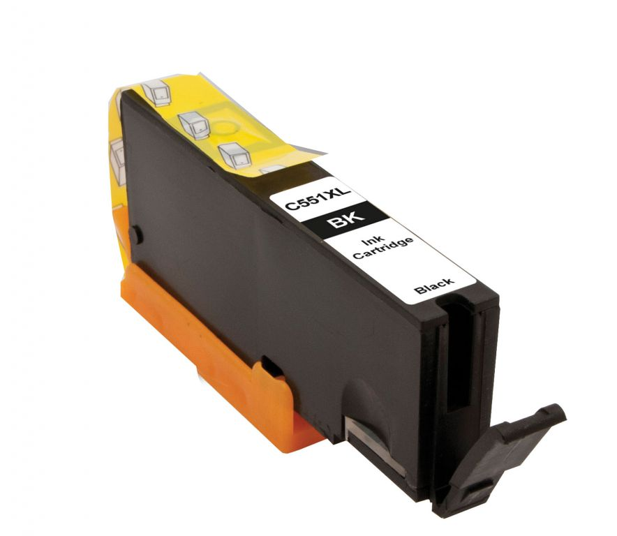 Inkoust Peach CLI-551Bk XL kompatibilní foto černý PI100-163 pro Canon Pixma MG5450 (13ml) - poškozený obal